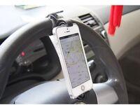 Steering wheel phone holder £3