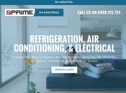 PRIME A/C & ELECTRICAL refrigeration air con electrical PRICES LISTED High Wycombe Kalamunda Area Preview