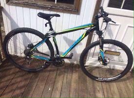 Hard rock specialized mountain bike