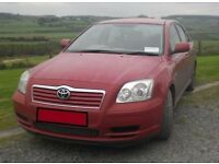 TOYOTA AVENSIS D4D DIESEL 2004 FOR PARTS OR REPAIR
