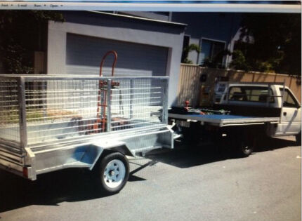 **MAN/UTE** + XL caged trailer Upper Coomera Gold Coast North Preview