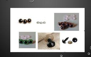 Doll plastic eyes,brown,golden,green,black, animal nose-diy toys
