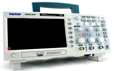 Hantek Dso5102p Digital Oscilloscope 100mhz 1gs 2ch 7 Tft Record Length Up 40k