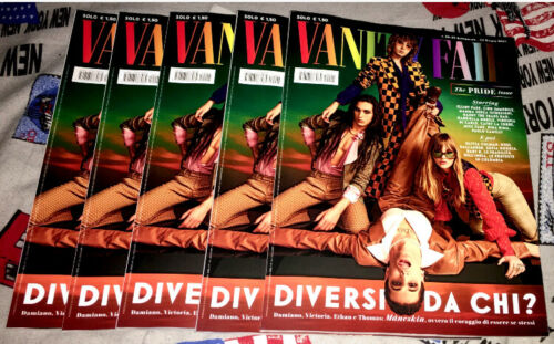 VANITY FAIR Italia Magazine June 2021 Maneskin