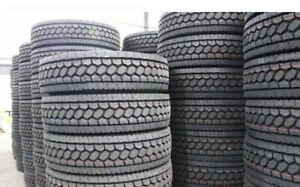 11R22.5 Truck Drive, Steer, Trailer Tires; MASSIVE SALE!!!
