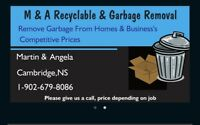 M & A Recyclable & Garbage Removal