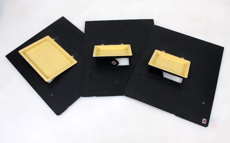Saunders Omega Masks for Darkroom Enlarger Easel Set of 3