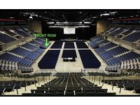 Phil Collins tickets x 2 FRONT ROW Liverpool
