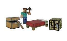 MINECRAFT toy bundle inc figures, blocks, weapons. NEW.