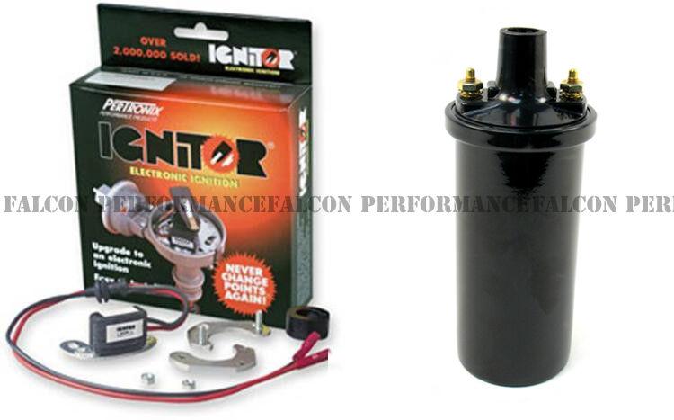 Pertronix Ignitor+Coil//Ignition White G1600 w//Prestolite IAD-6013 Distributor