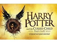 2 x Tickets for Harry Potter and the Cursed Child Parts 1&2 - 22nd/23rd February