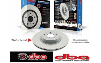 2x DBA front disc brake rotors (Toyota Hilux) (BRAND NEW) Arundel Gold Coast City Preview