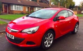 2015 Vauxhall Astra GTC Sport, Automatic, 1 owner, Low miles