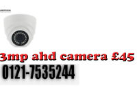 dome cctv camera 3mp ahd offer 4 camera system supplied and fitted £500