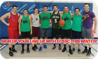 Play Co-ed, For-Fun Basketball with FCSSC this Winter!