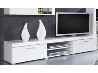 Samba High Gloss Modern TV Stand Entertainment Unit