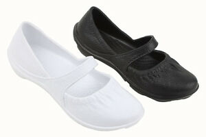 New-Fashion-Womens-Slip-On-Mary-Jane-Ballet-Flats-Shoes-Rubber-Waterproof