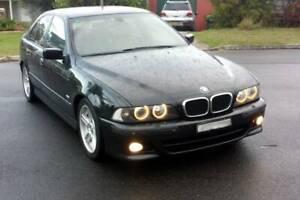 2001 BMW 530i M-SPORT Black Auto Rego