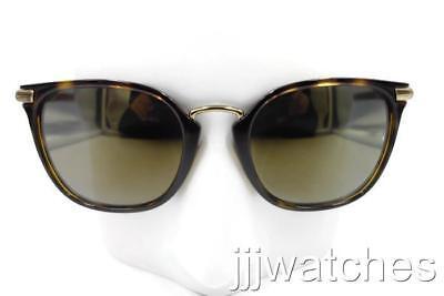 a7b4790a089c New Burberry Round Square Tortoise Dark Havana Women Sunglasses BE4262  30024T 53