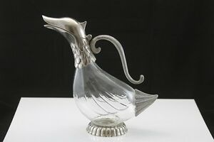 Carafe en canard duck decanter