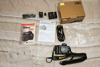 Nikon D60 + 18-55 VR II