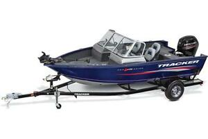 Pro Guide™ V-175 WT w/ 90 EXLPT FourStroke EFI and Trailer
