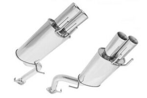 "Z32 300ZX Labree Style 3"" Stainless Steel Cat back exhaust"