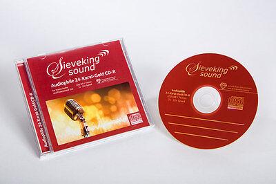 * SIEVEKING SOUND - 24 KARAT GOLD - CD ROHLING - CD-R-1 - 1 STÜCK!   *