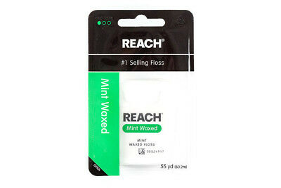 (Reach Mint Waxed Dental Floss 55 Yards)