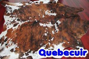 cowhide rug promotion decoration tapis peau de vache