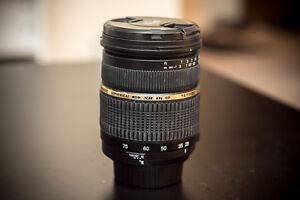 Tamron 28-75mm f2.8 for Nikon FX