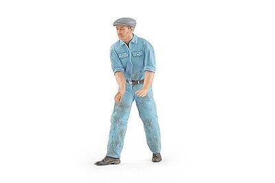 Figutec 1:18 Mechanic Stepping Right Figurine - Lt. Blue