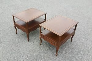Set of Delicraft End Tables