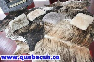 COWHIDE RUG DECORATION PROMOTION TAPIS PEAU DE VACHE