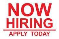 NOW HIRING!! GARAGE DOOR INSTALLERS AND TECHNICIANS