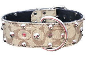 REAL LEATHER COLLARS WITH HEARTS AND SKULLS Prince George British Columbia image 3