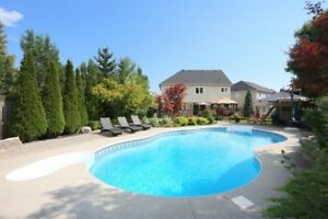 Executive Home with Extensive Landscaping* BackYard POOL Oasis*