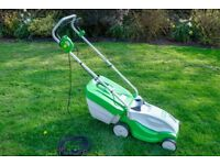 Viking/Stihl Electric Lawn Mower ME 235 13 inch / 33cm cutting width. Nearly new condition