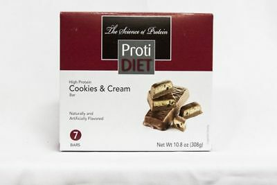 Diet Bar Cookie - Ideal Protein Compatible Proti Diet Cookies and Cream Bars