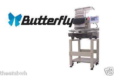 Commercial Embroidery Machine Single Head ButterFly B-1501/T CEO SPECIAL PACKAGE