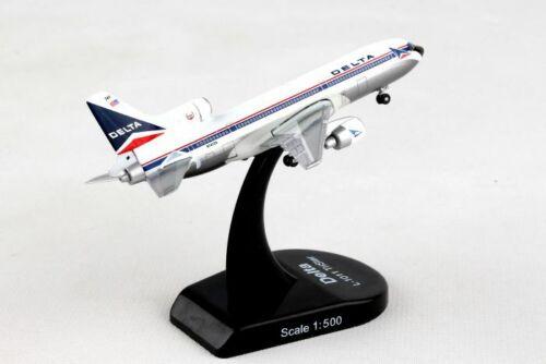 Delta Airlines Lockheed L-1011 Tristar 1/500 Diecast Model with Stand Reg N741DA