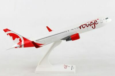 Skymarks Air Canada Rouge Boeing 767-300 1/200 Scale Model with Stand C-FMLV