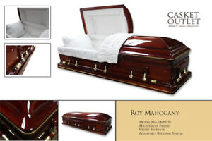 Affordable Price Canadian Made Wooden/Metal Caskets CASKET OUTLE