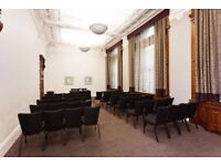 Spacious Meeting and Conference rooms at Charing Cross, Events, Meet ups, ABMs, Talks, Theatre