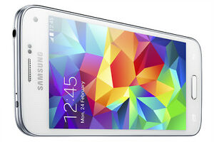 Samsung S5 White Unlocked Wind Compatible Excellent Condition