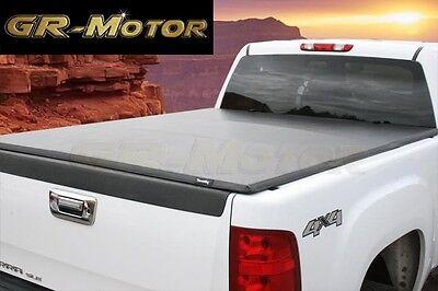 2014-2018 Chevy Silverado GMC Sierra 6.5' ft Soft Trifold Tonneau Cover(No Utili