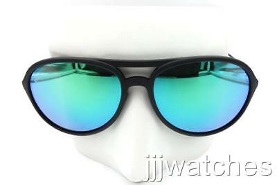 New Ray-Ban Alex Rubber Black Frame Green Mirrored Sunglasses RB4201 622/3R (Ray Ban Colored Frames)