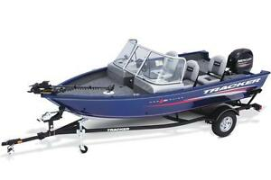 2017 Pro Guide™ V-16 WT w/ 60 ELPT FourStroke and Trailer