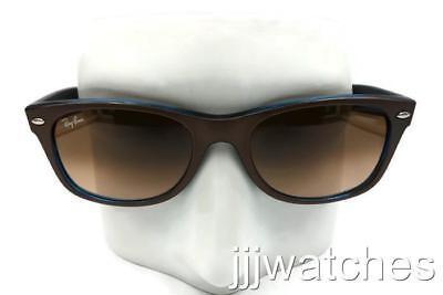 91af1187739ee Ray-Ban New Wayfarer Tri-Color Brown Gradient Sunglasses RB2132 6310A5 52   158