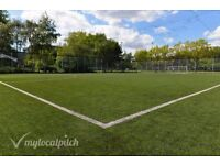 We Need 2 Players for a 7 a side this Saturday at 5pm in Islington. Come play football with us!